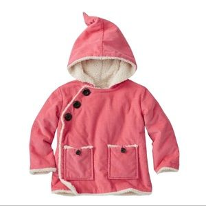 Hanna Andersson Baby Cozy Sherpa Lined Elf Jacket